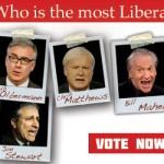 whoismostliberalvote