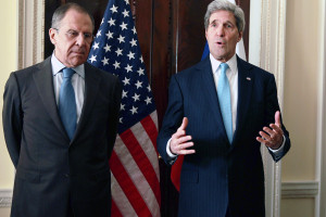 Secretary Of State John Kerry Meets Russian Foreign Minister Sergey Lavrov In London