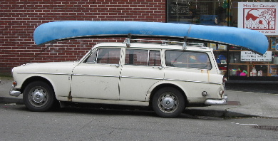The amphibious car