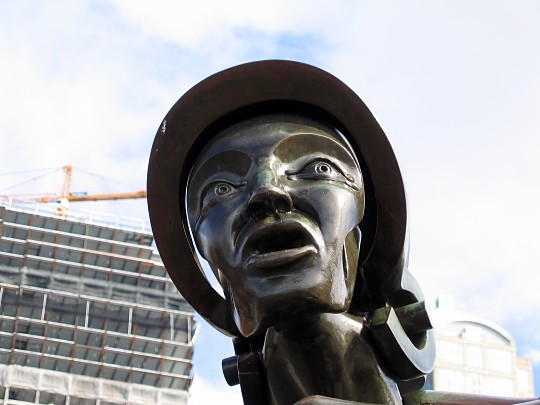 [Columbus statue]