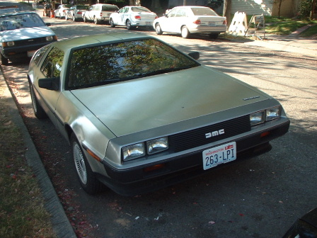 Here's a Delorean.