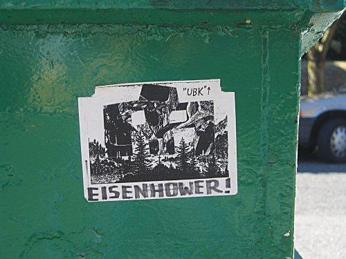 [Cold K Eisenhower sticker]