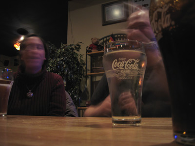 [Big Coke glass]