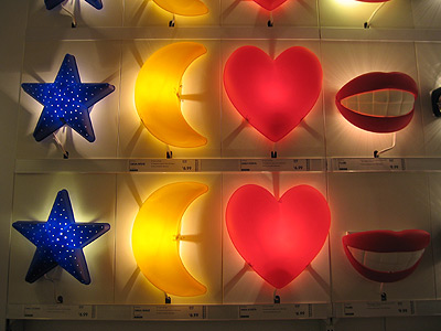 [Colorful Wall Lamps]
