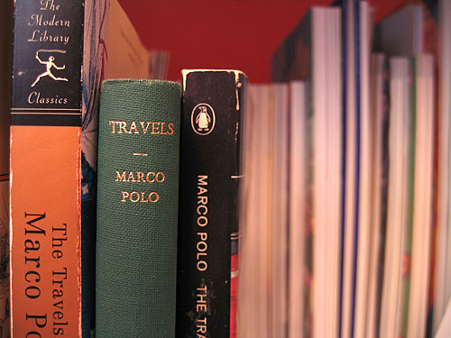 "[Book - ""Travels"" Marco Polo]"